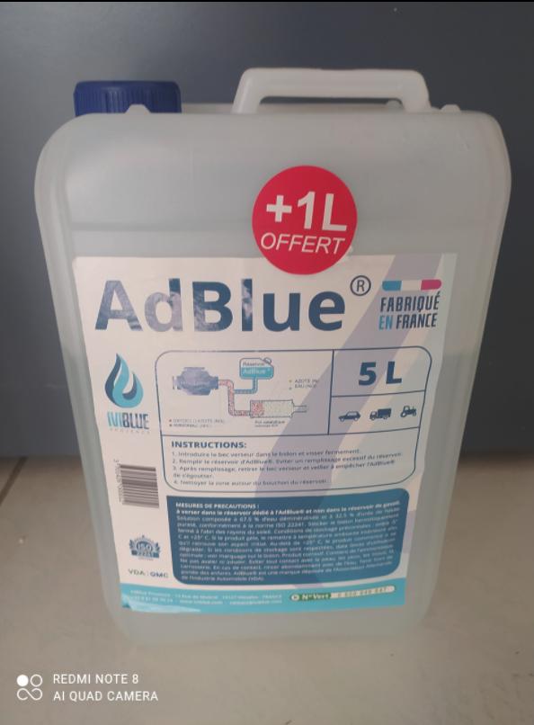 palette bidons 5L adblue